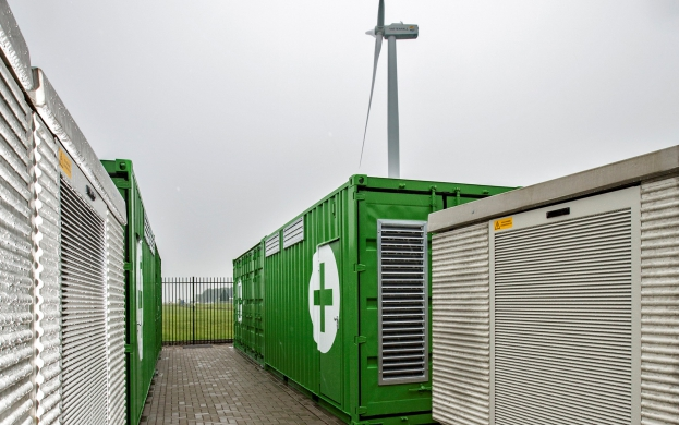 3MW energy storage for Nuon
