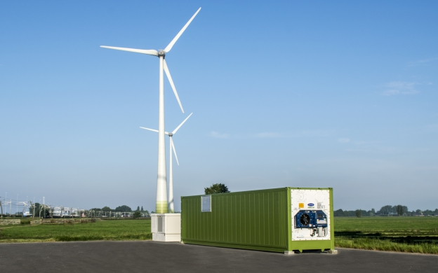 Energy storage Scholt and Giessenwind
